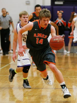 Colby Shane, #14, and Ames joined the CIML's top teams in the Associated Press top 10 for the first time this season.