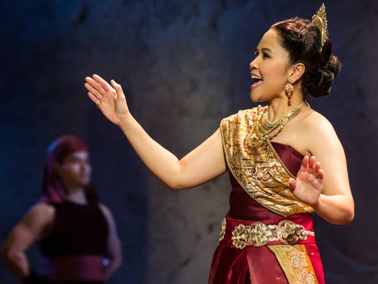 "Joan Almedilla as Lady Thiang in ""The King and I."""
