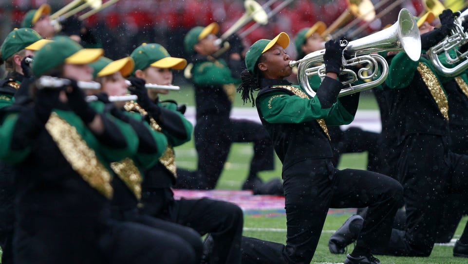 Two years ago, the Parkview High School marching band