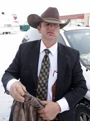 Ryan Bundy, one of the sons of Nevada rancher Cliven