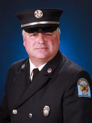 Binghamton Fire Marshal Alan Gardiner