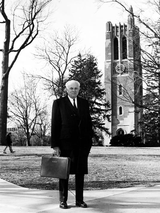 John Hannah MSU president