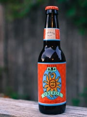 Brewed in Kalamazoo, Michigan, this Bell's Oberon recently