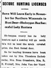 An Oct. 30, 1911, article from The Sheboygan Press