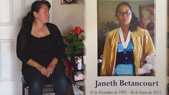 On Monday, Jan. 26, Janet Betancourt walked in the
