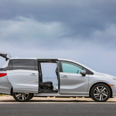 Honda Odyssey attains lofty level of comfort