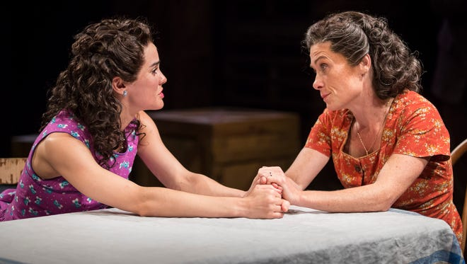 "Melisa Pereyra (left) and Colleen Madden, seen  here in ""A View From the Bridge,"" will play leading roles during American Players Theatre's 2018 season."