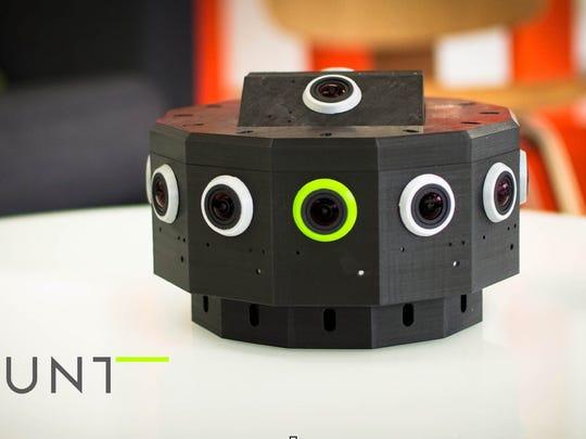 Jaunt's prototype VR camera features lenses all around