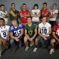The Elite 11 football players for 2015.