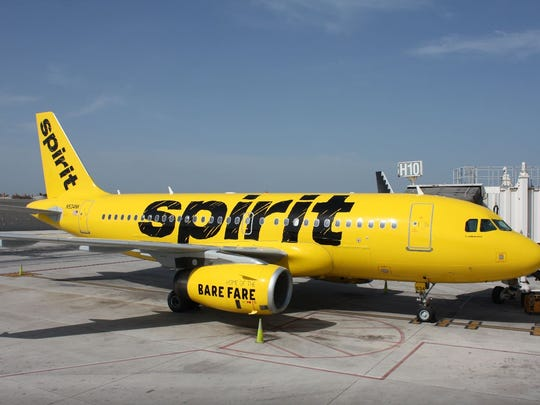 Spirit Airlines will begin nonstop service to a handful of U.S. cities from the Nashville International Airport this week.