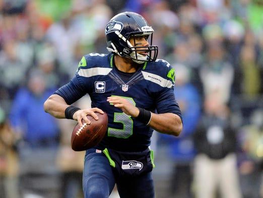 QUARTERBACK: Russell Wilson, Seattle Seahawks