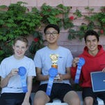 Sergio Haro, a seventh grader at Cahuilla Desert Academy, qualified for the California State Science Fair in May.