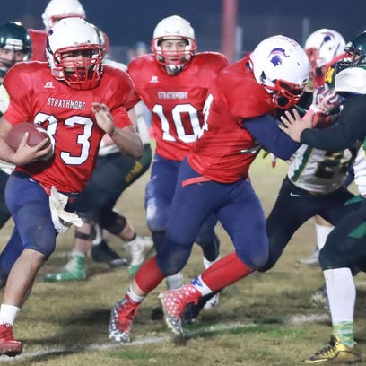Football: Strathmore eyes state championship