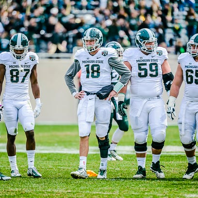 MSU quarterback Connor Cook enters his third year as a starter with a 23-3 record 6,063 yards, 47 touchdowns and 15 interceptions.