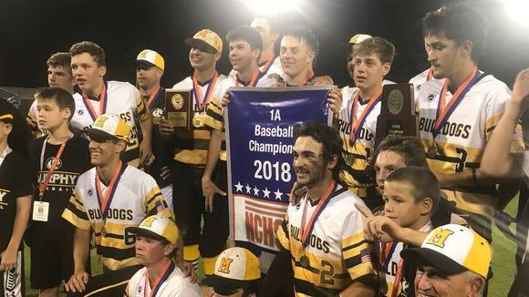 The Murphy Bulldogs won the 1A NCHSAA state championship