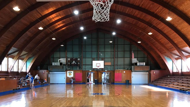 The gym in Pleasantville is one of the most unique in Indiana.