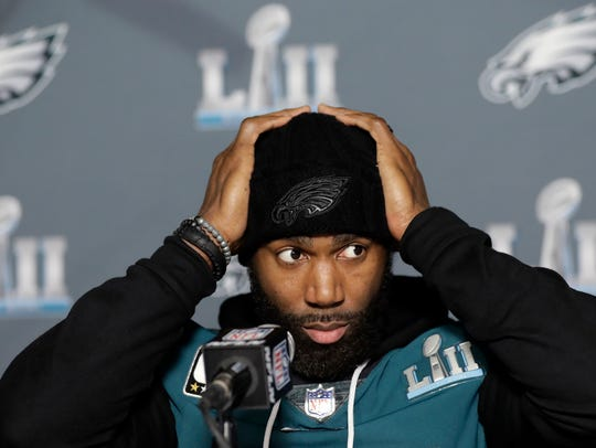 Philadelphia Eagles strong safety Malcolm Jenkins takes