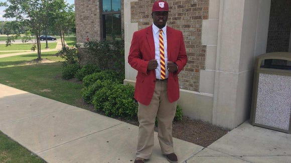 Park Crossing baseball player JaMorri Cunningham signed a baseball scholarship with Tuskegee on Monday.