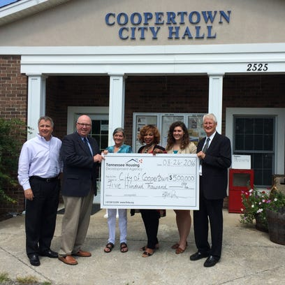 Coopertown secured $500,000 in federal funding for income-based families to use for home repair projects.