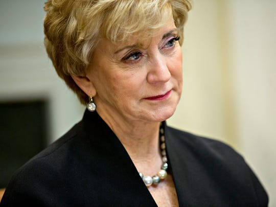 Linda McMahon, administrator of the Small Business