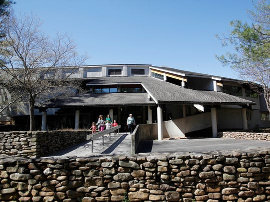 The Folk Art Center on the Blue Ridge Parkway.