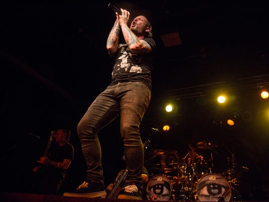 Corey Taylor, Des Moines native and lead singer of