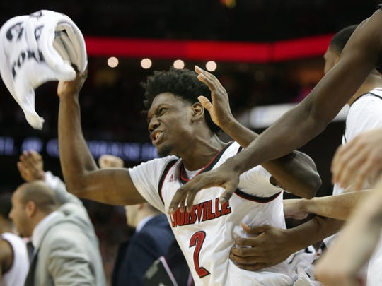 Darius Perry (2) brings energy to Louisville.
