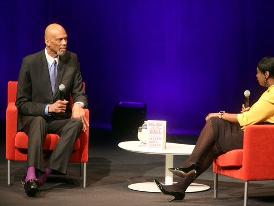 Political activist and NBA champion Kareem Abdul-Jabbar