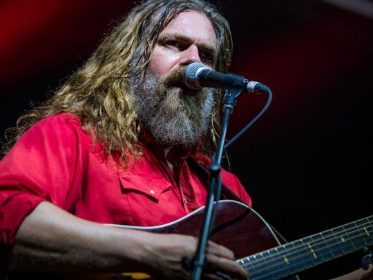 The White Buffalo performs at the inaugural Innings