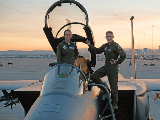"Brie Larson (left) is suiting up as pilot-turned-hero Carol Danvers in ""Captain Marvel"" as well as the fourth ""Avengers"" film."
