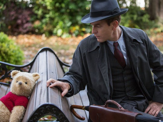 Christopher Robin (Ewan McGregor) reconnects with childhood