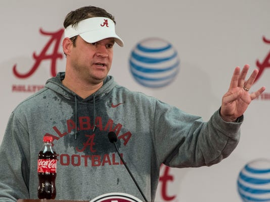 Alabama Football Monday Saban Presser Jan. 6