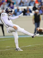 Is Ian Berryman, the punter, Western Carolina's key