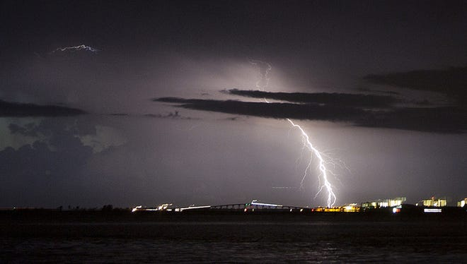 Electric surge is a major risk when summer thunderstorms get rolling.