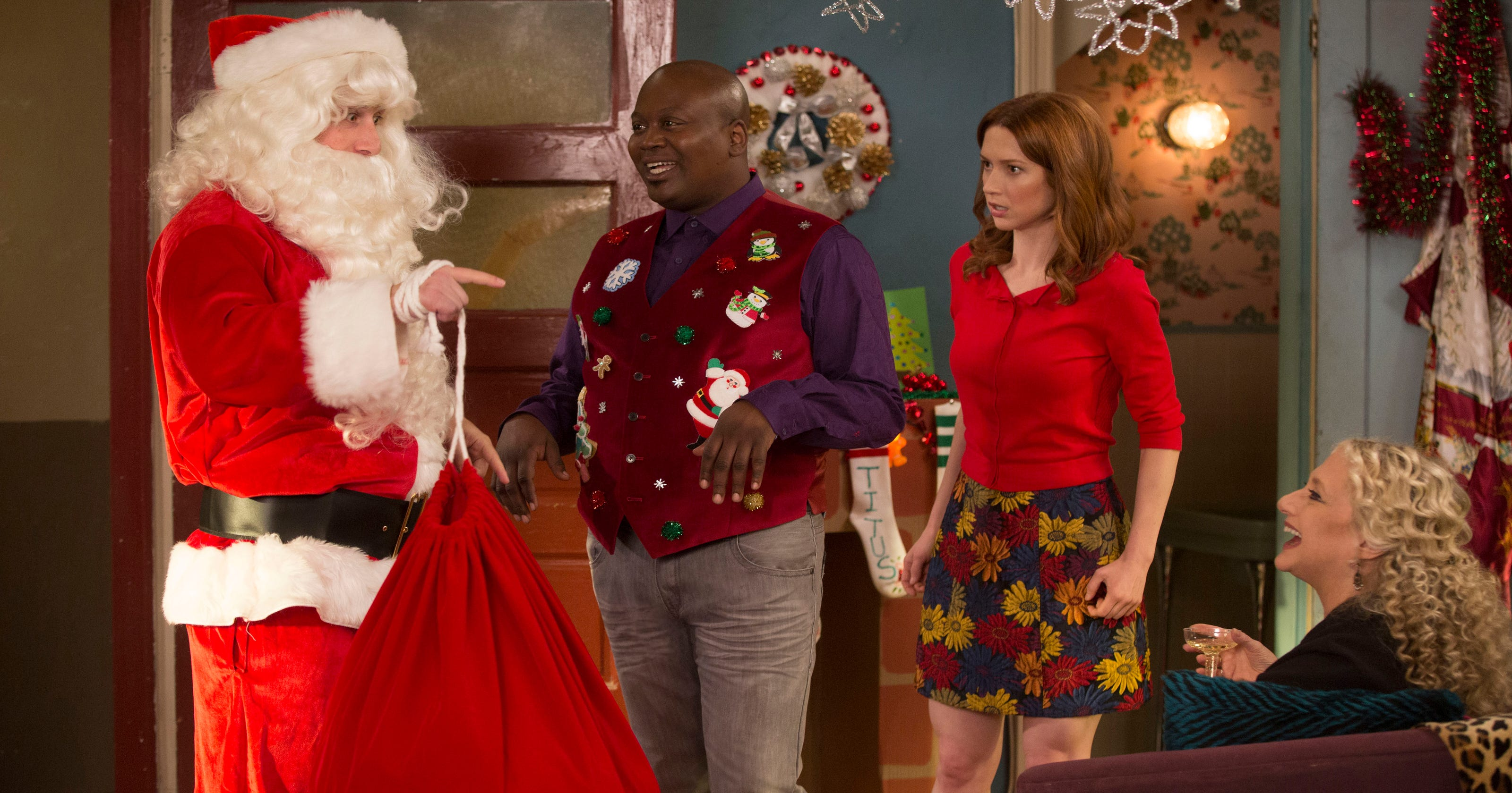 Amy Sedaris Kimmy Schmidt on set: 'kimmy schmidt' expands her world as quirky netflix