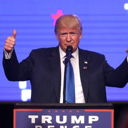 Donald Trump, the Republican nominee for president,