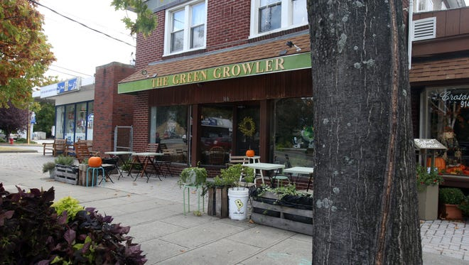 The Green Growler, a popular Croton-on-Hudson craft beer store and tap room, wants to relocate from 368 S. Riverside Ave. to 4 Croton Point Ave. in Croton-on-Hudson. It is seen on Oct. 25, 2016.