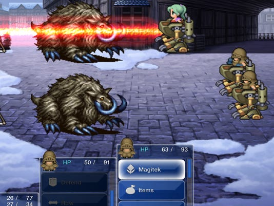 Final Fantasy VI on iOS and Android