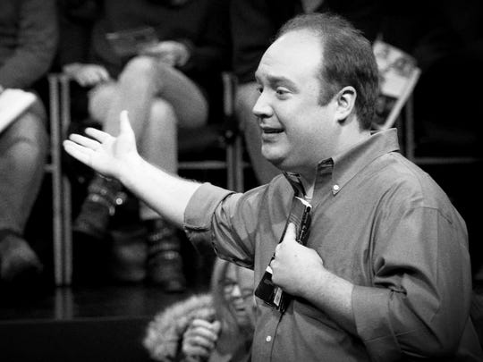 """Actor/comedian Jonny Donahoe stars in """"Every Brilliant Thing."""""""