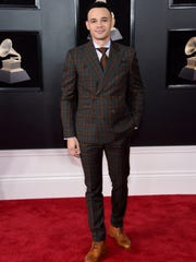 Recording artist Tauren Wells attends the 60th Annual GRAMMY Awards at Madison Square Garden in New York City.