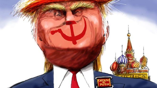 Cartoon for Jan. 7, 2017.