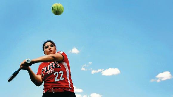 Bel Air senior third baseman Yasmin Melero commits to North Western Oklahoma University