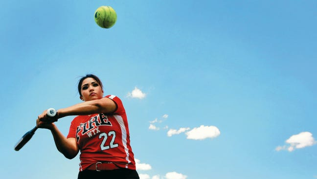 Bel Air senior third baseman Yasmin Melero commits to North Western Oklahoma University
