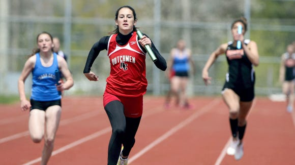 Annville-Cleona junior Reagan Hess will be going after a third straight Most Outstanding Female Athlete award at Saturday's Lebanon County meet.