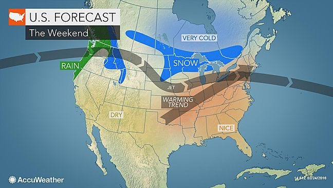 Get ready to take advantage of the warming trend coming our way this weekend.
