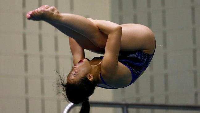 Nevada's Sharae Zheng won two All-American honors last week.
