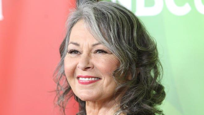 Roseanne Barr in April 2014 in Pasadena.