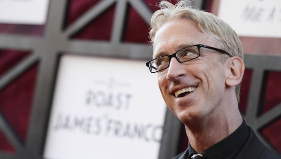 Andy Dick in AUgust 2013 in in Culver City, Calif.