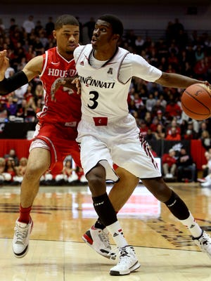 Forward Shaquille Thomas is UC's leading returning scorer at 6.8 points per game. Thomas has put more arc into his shot this offseason.