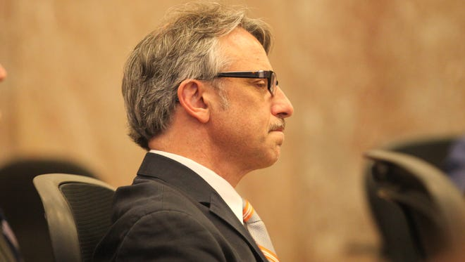 Dr. Daniel Baldi on Tuesday, during closing arguments in his trial.